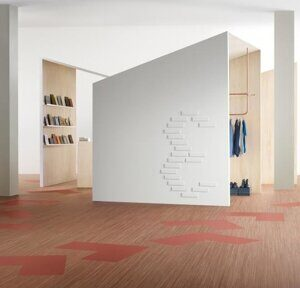 Marmoleum Striato Original 5240 canyon shadow 2,5 mm