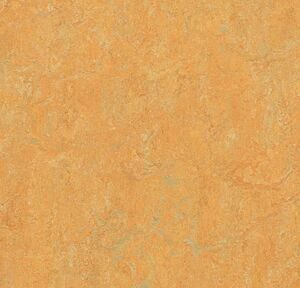 Marmoleum Real  3847 golden saffron 2 мм